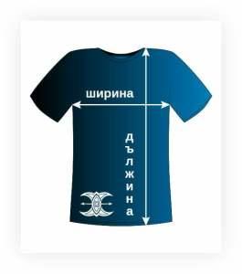 size charts mens tshirts