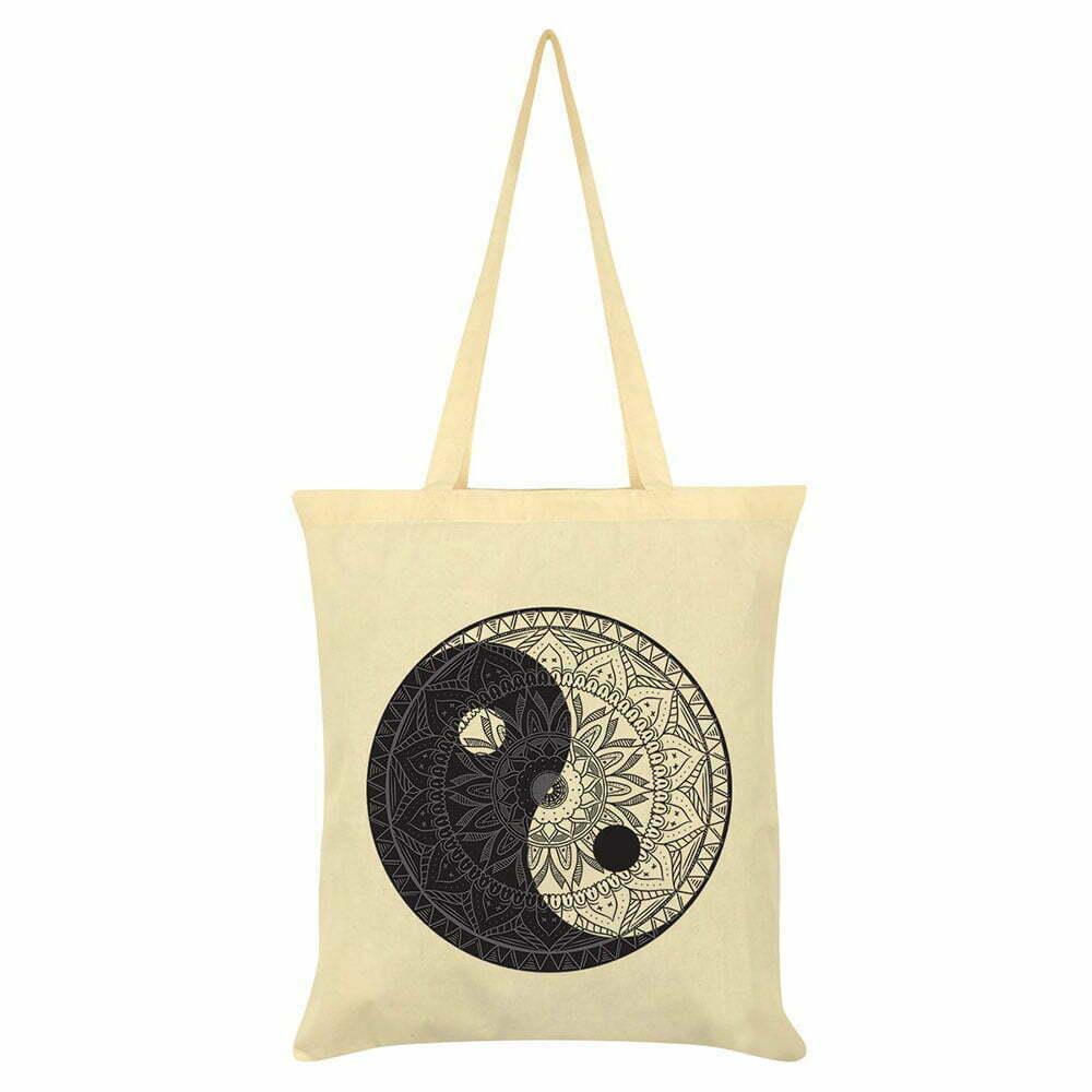 Платнена чанта Yin Yang Mandala