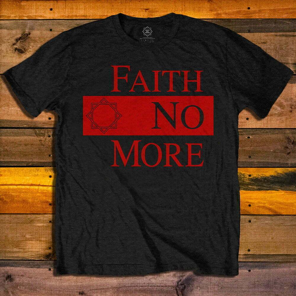 Тениска Faith No More Logo Star