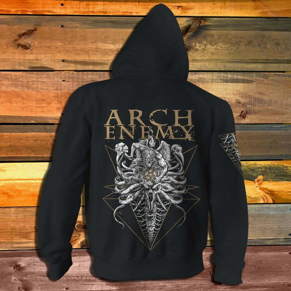 Суитчър Arch Enemy A Fight Must Win гръб