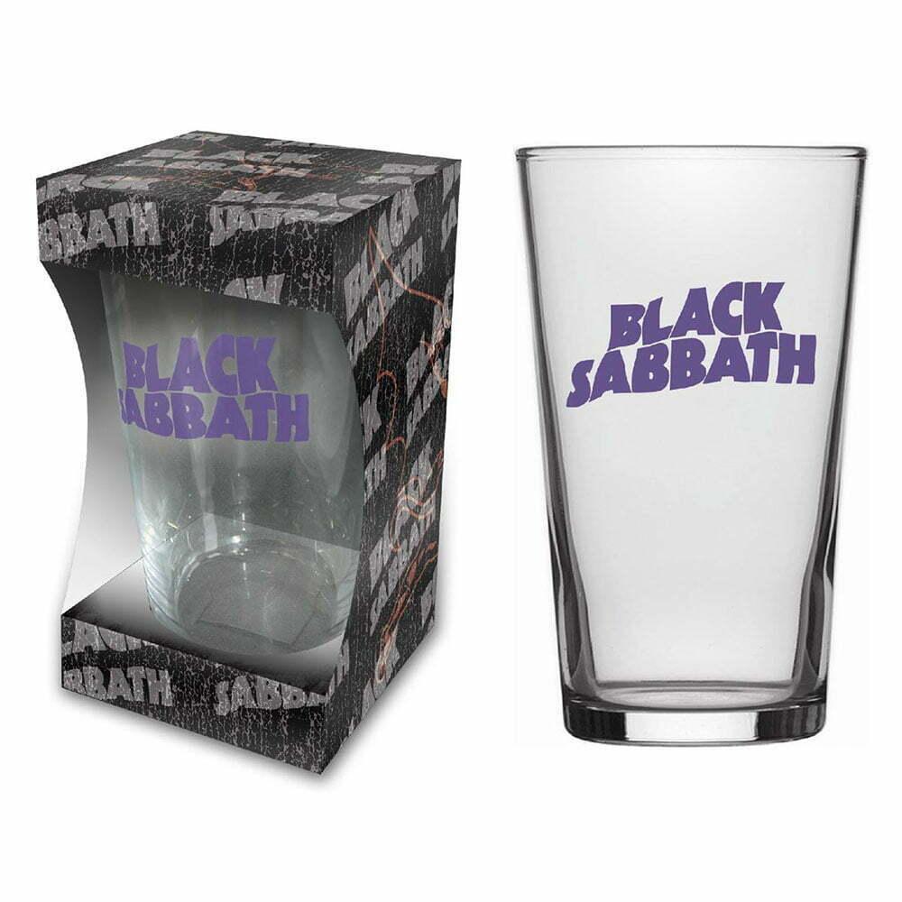 Чаша Black Sabbath Purple Logo