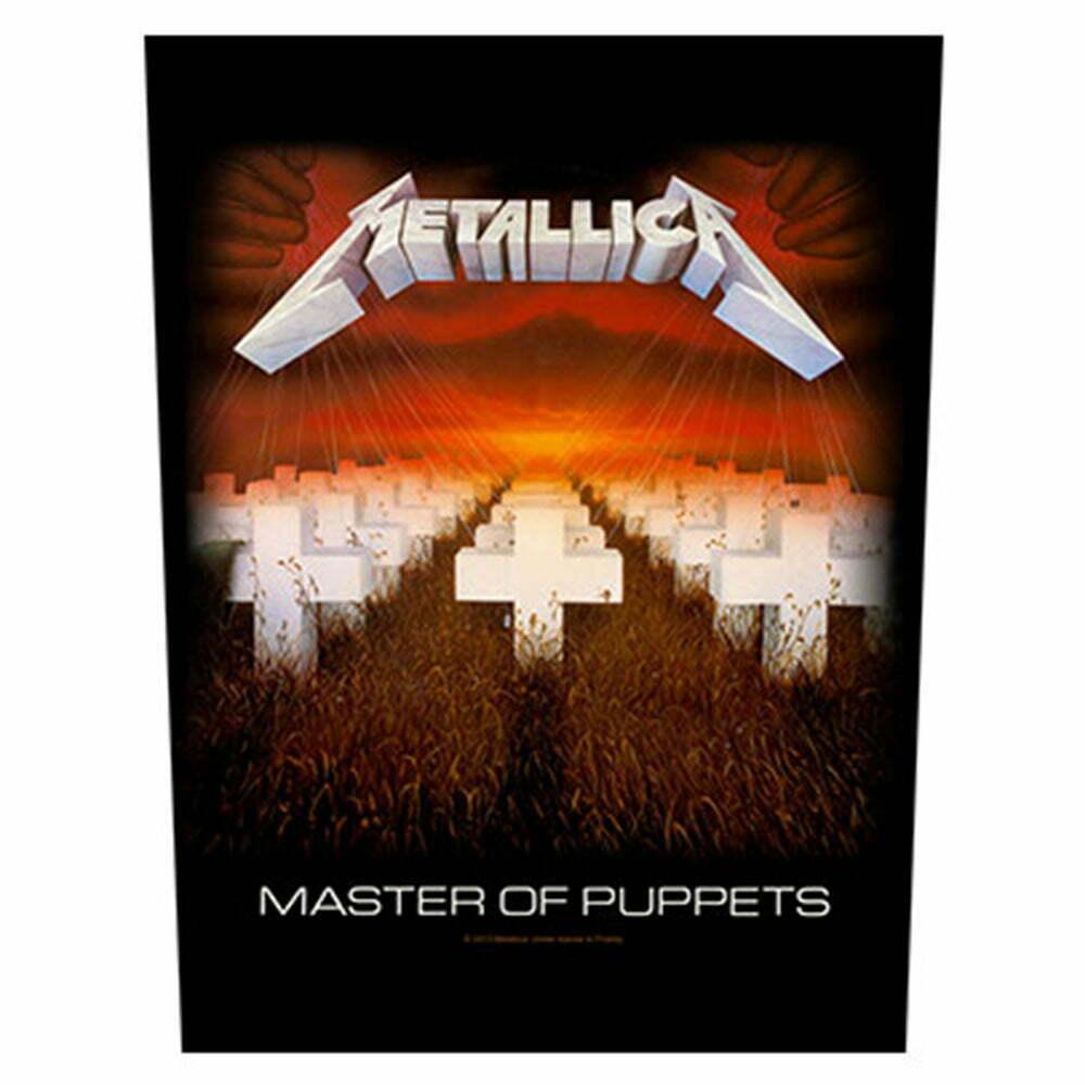 Гръб Metallica Master Of Puppets