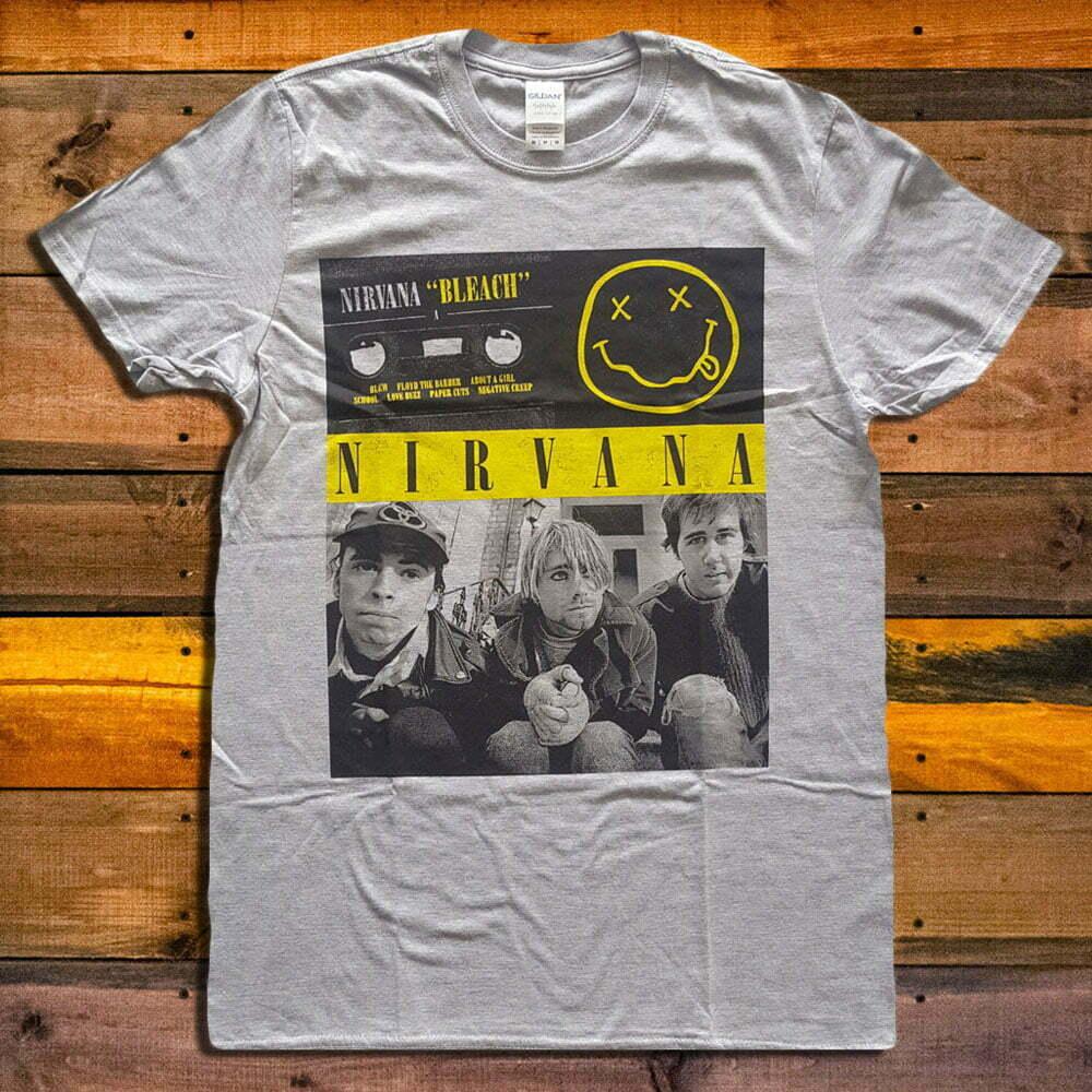 Тениска Nirvana Bleach