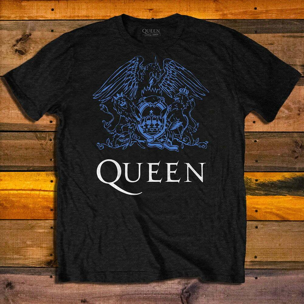 Тениска Queen Blue Crest