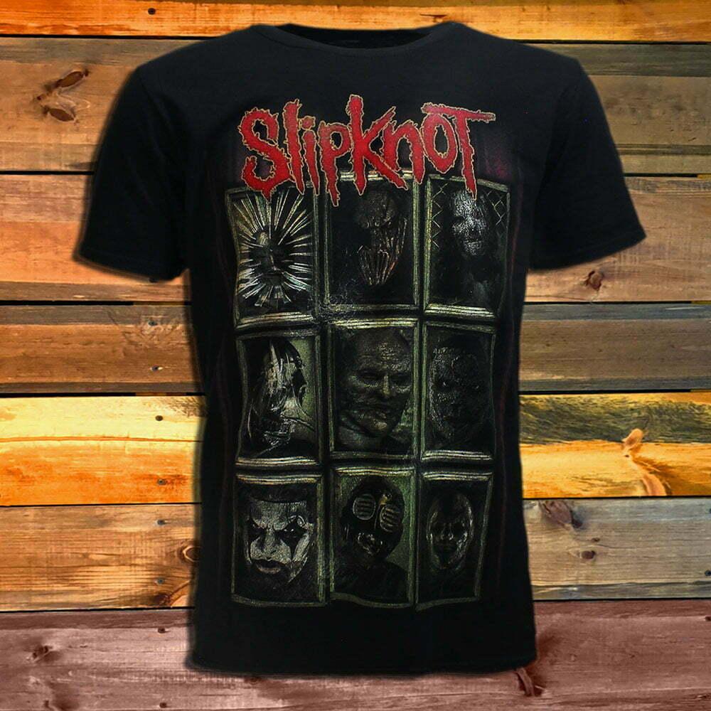 Тениска Slipknot New Masks