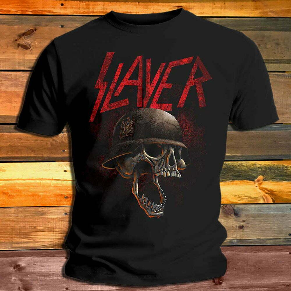 Тениска Slayer Skull Helmet