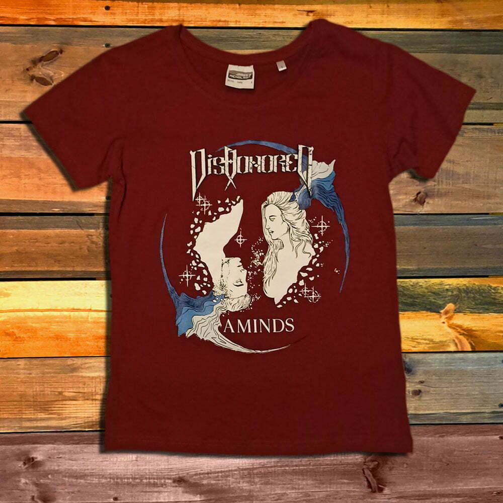 Дамска Тениска Dishonored Aminds Bordo