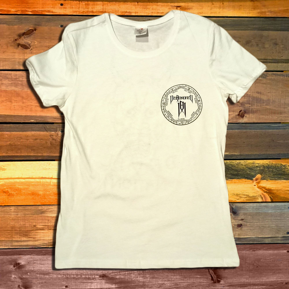 Дамска Тениска Dishonored Devil Nation White