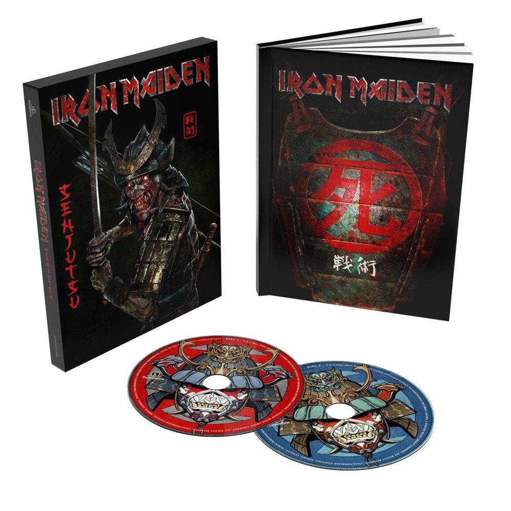 Iron Maiden Senjutsu Deluxe 2 CD Book