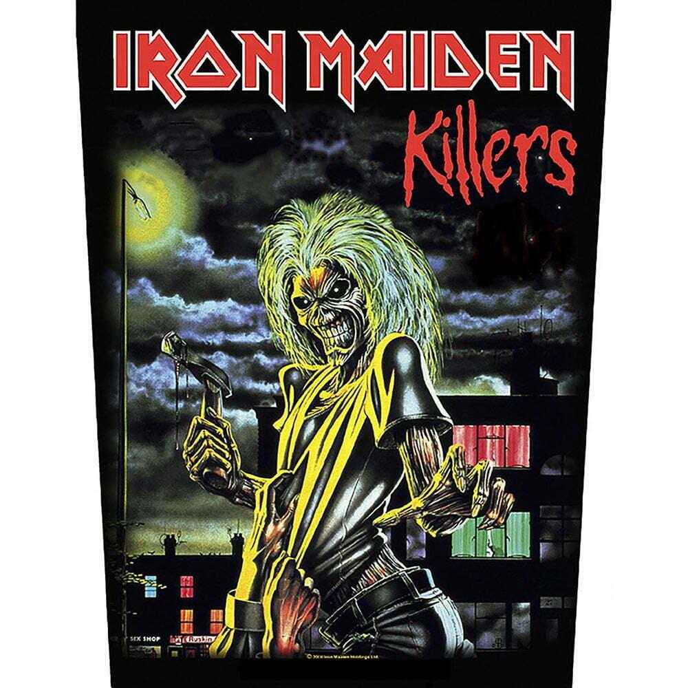 Гръб Iron Maiden Killers