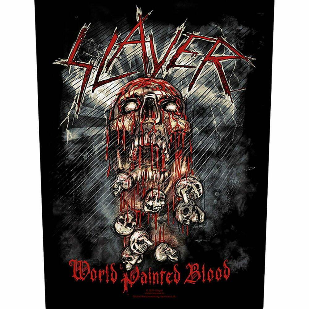 Гръб Slayer World Painted Blood