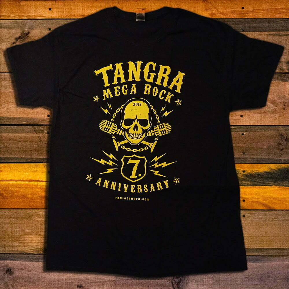 Тениска Radio Tangra Mega Rock 7 Years Anniversary