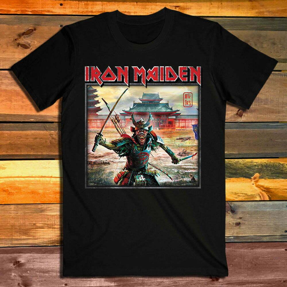 Тениска Iron Maiden Senjutsu Album Palace