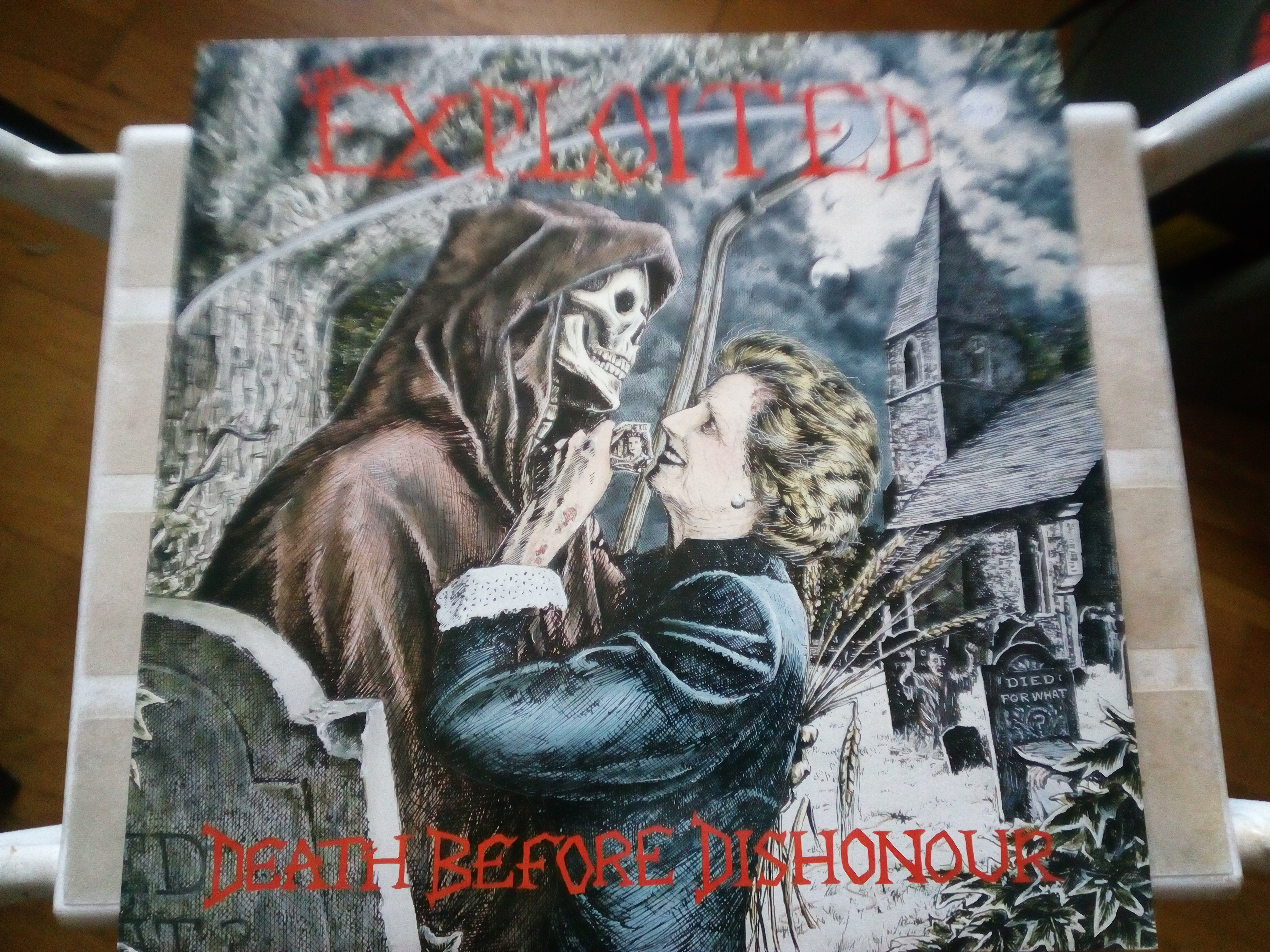 Exploited album artwork 2