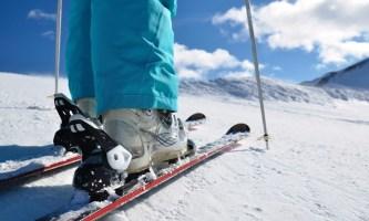 Горные лыжи: ботинки икрепления