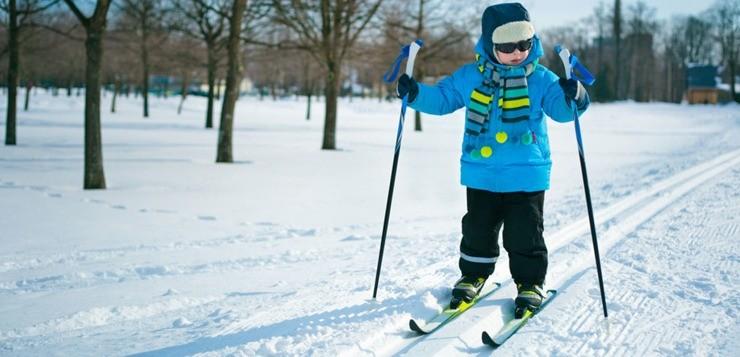 Лыжный спорт для детей