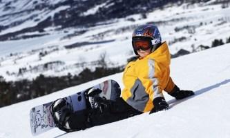 Сноуборд для детей: плюсы