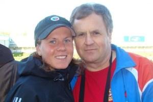 Яна Романова с отцом