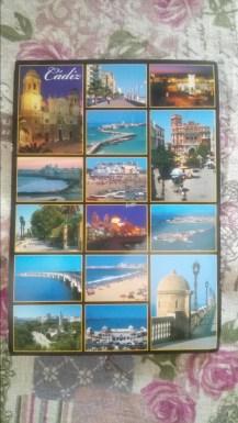 Jolie carte postale de Cadiz