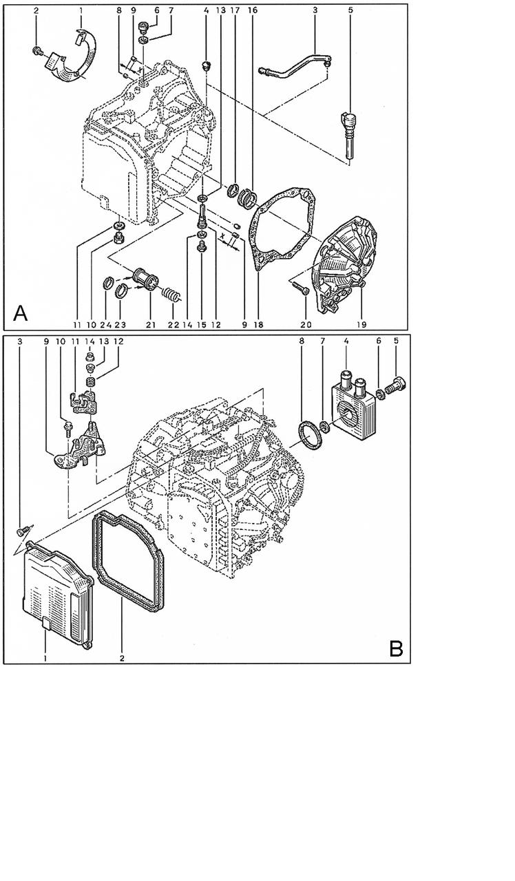DPO, AL4 Комплекты фрикционов Запасные части на АКПП