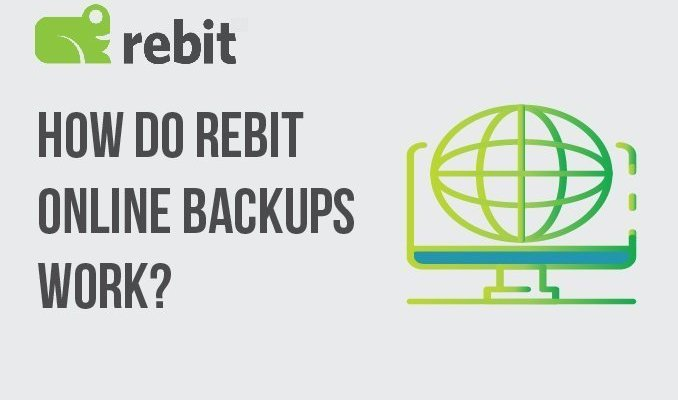 How do Rebit Online Backups Work?
