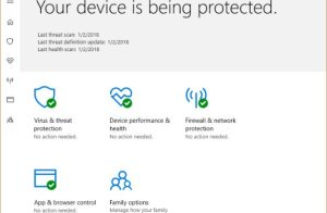 Your Device Is Being Protected | Windows Antivirus Up-to-Date | Rebit