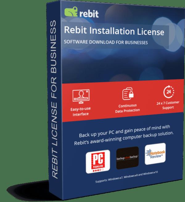 Licencia de producto comercial Rebit 3D | Rebit