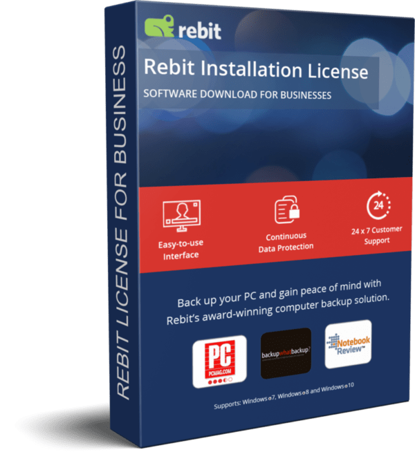 Rebit Business License de produto 3D | Rebit