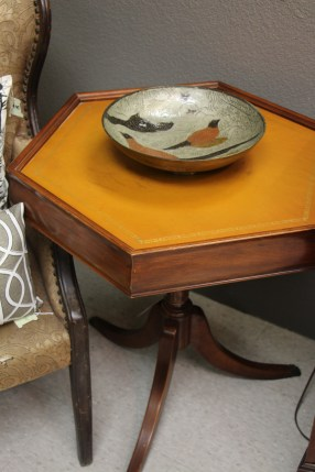 Octagon End Tables (2 Available) $95 Unpainted $135 Painted 25 1/2 x 22 1/4 x 26 1/2 #983