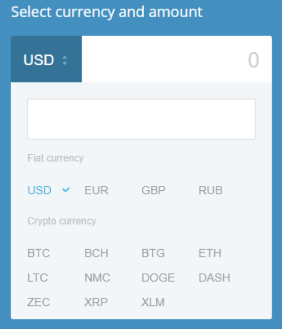 cex io supported currencies