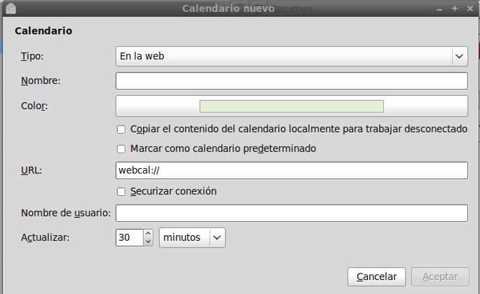 Dos formas de sincronizar Evolution con Google Calendar (3/5)