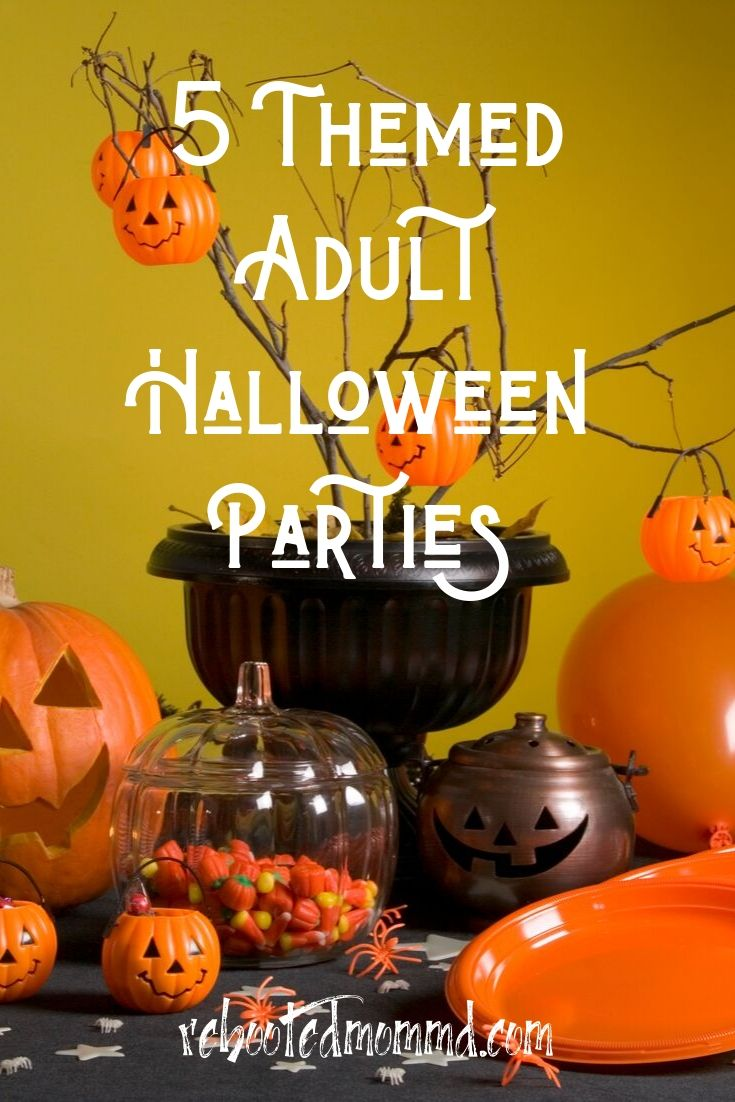 5 Themes for Your Adult Halloween Party