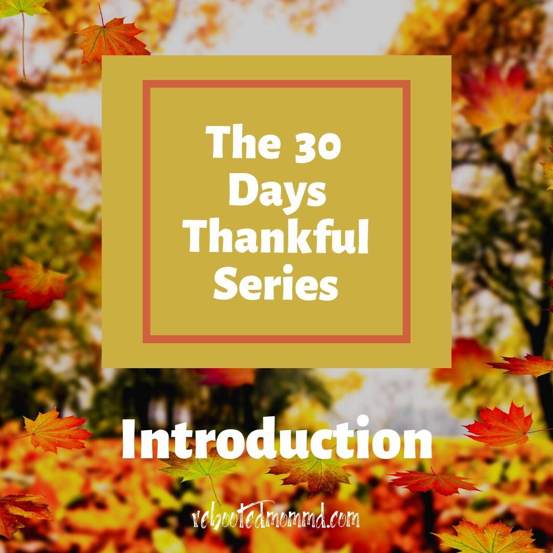 thankful days