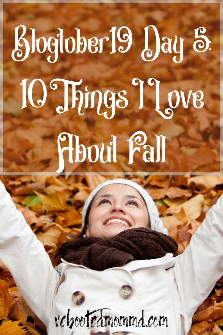 10 Things I Love About Fall