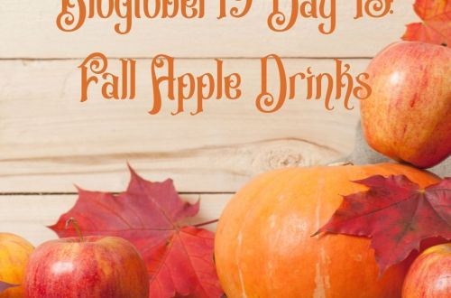 fall apple drinks