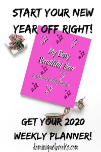 2020 planners