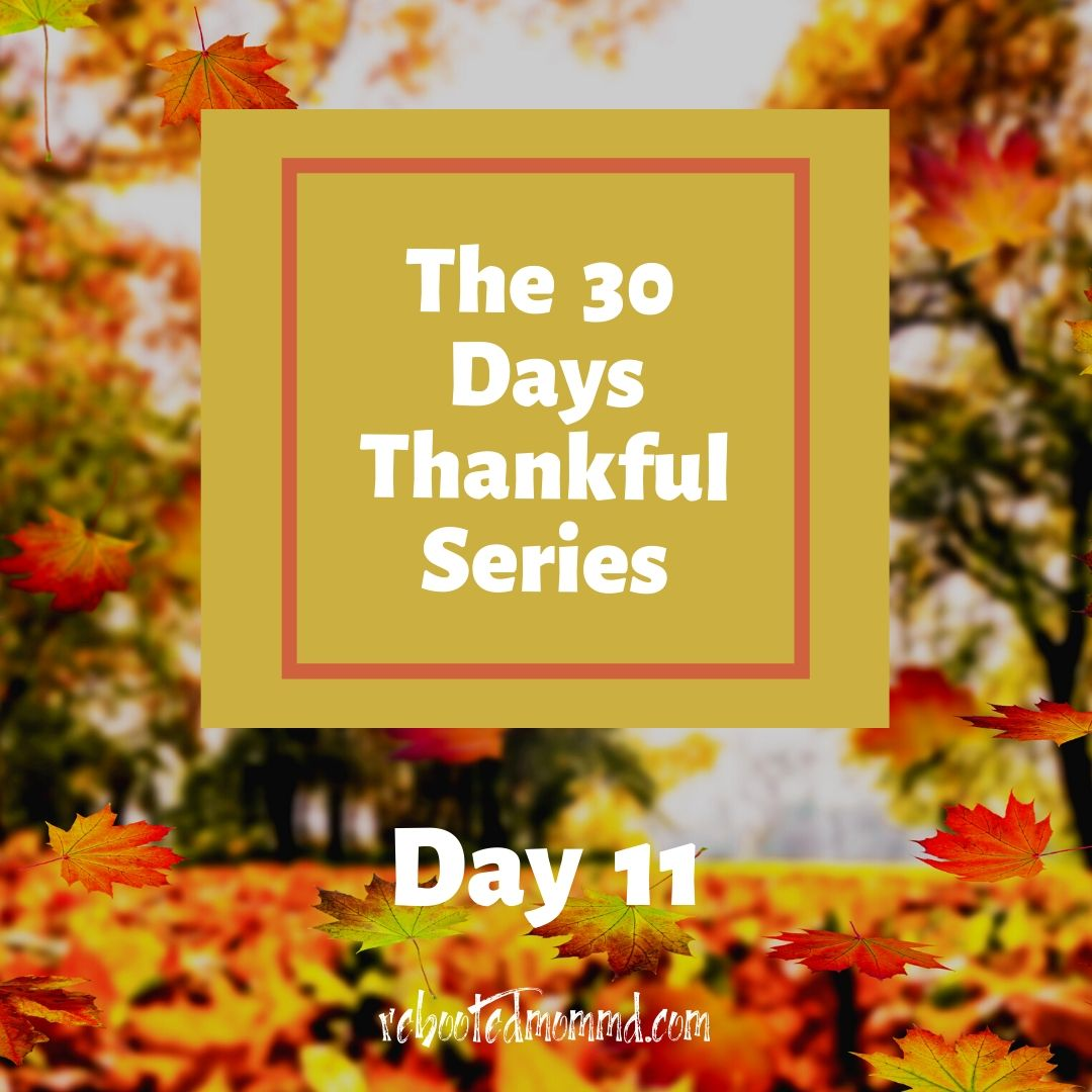 30 thankful days nature