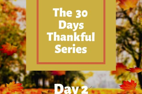 day 2 thankful series