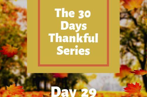 30 thankful days carefree