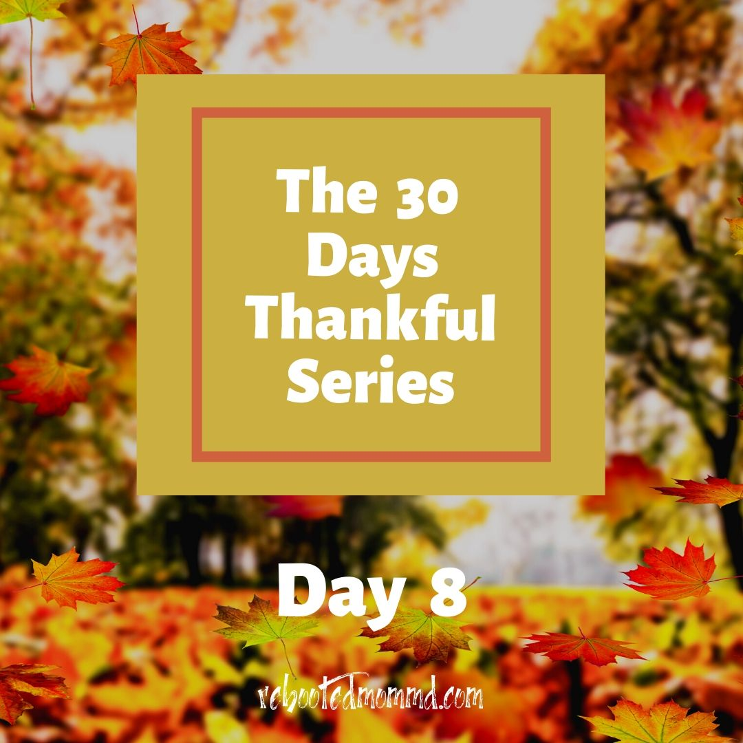 30 thankful days comforts