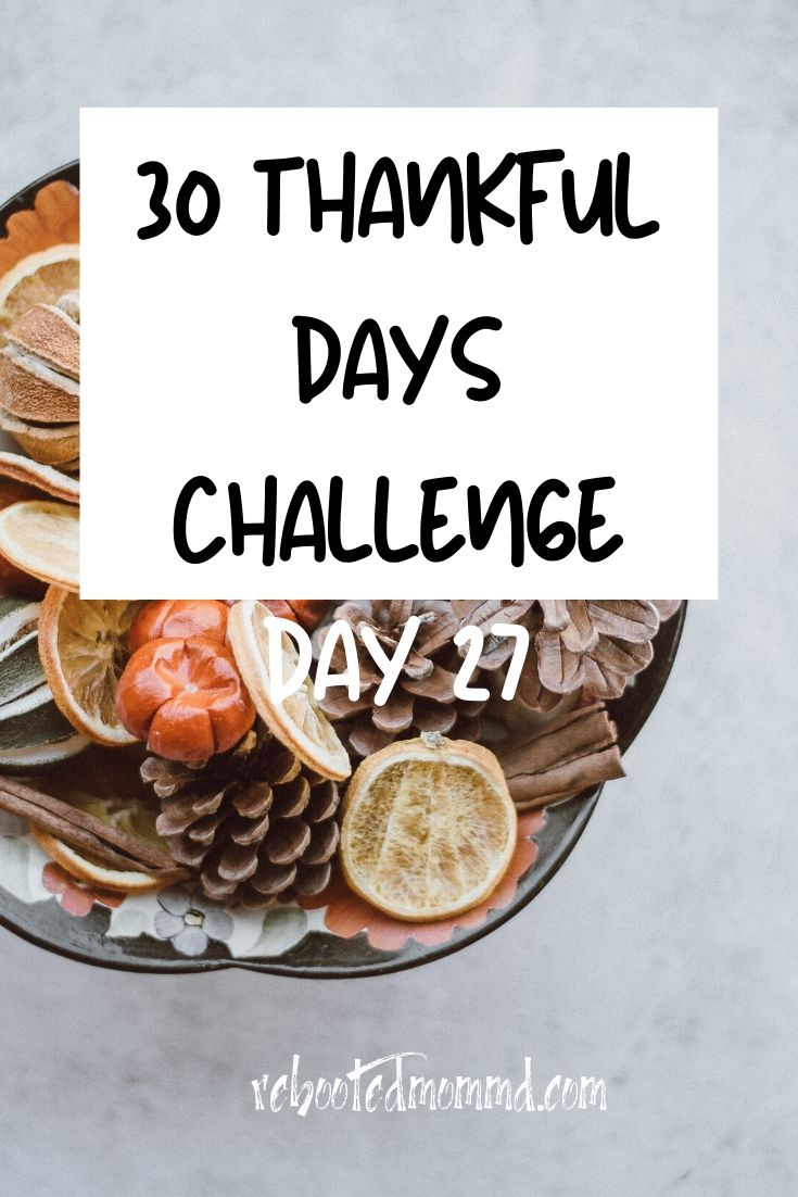 Day 27: Thankful for Dancing