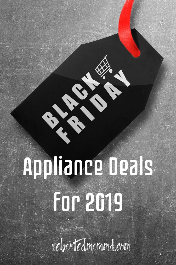 Black Friday Deals on Kitchen Appliances for 2019