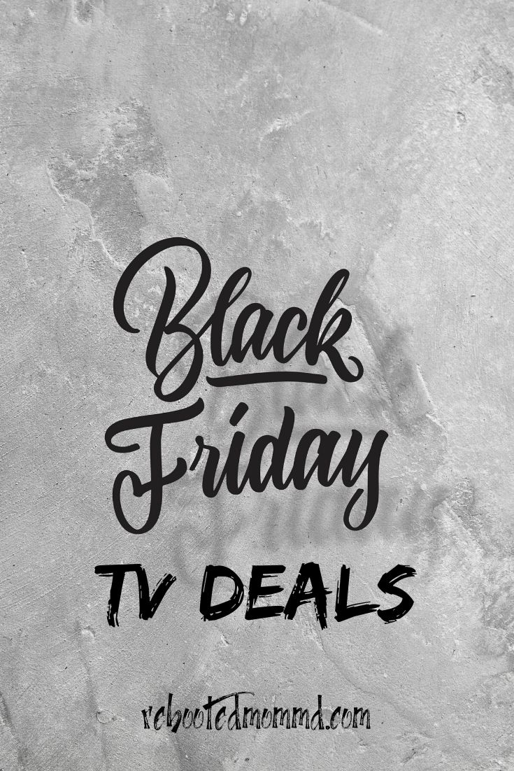 Black Friday TV Deals for 2019