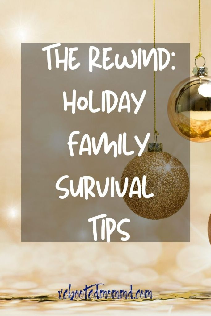 holiday survival stress