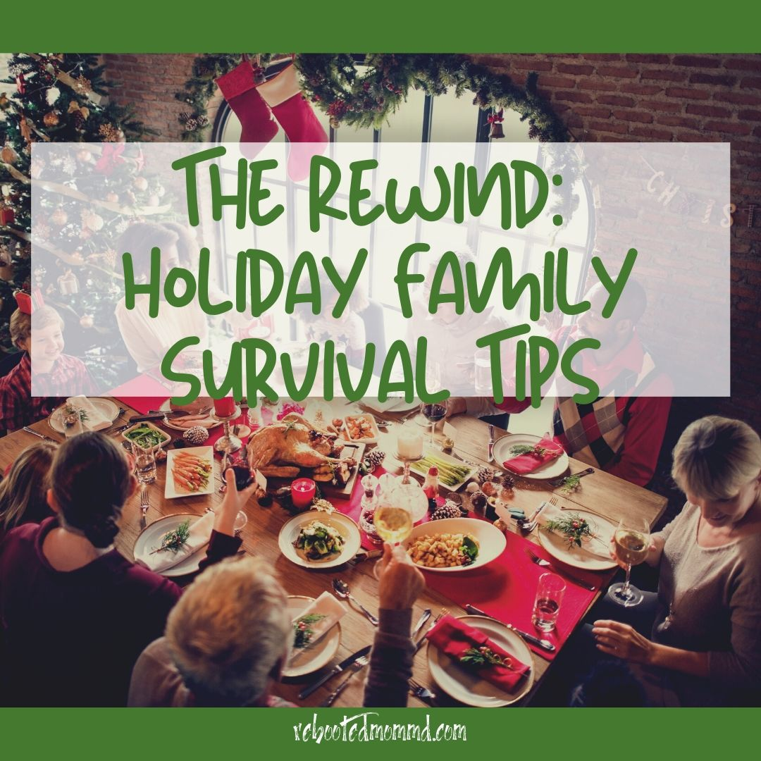 holiday survival stress