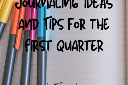 journaling ideas for the first quarter
