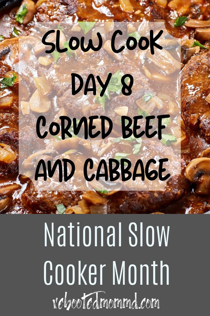 Slow Cooker Month: Corned Beef and Cabbage on the Slow