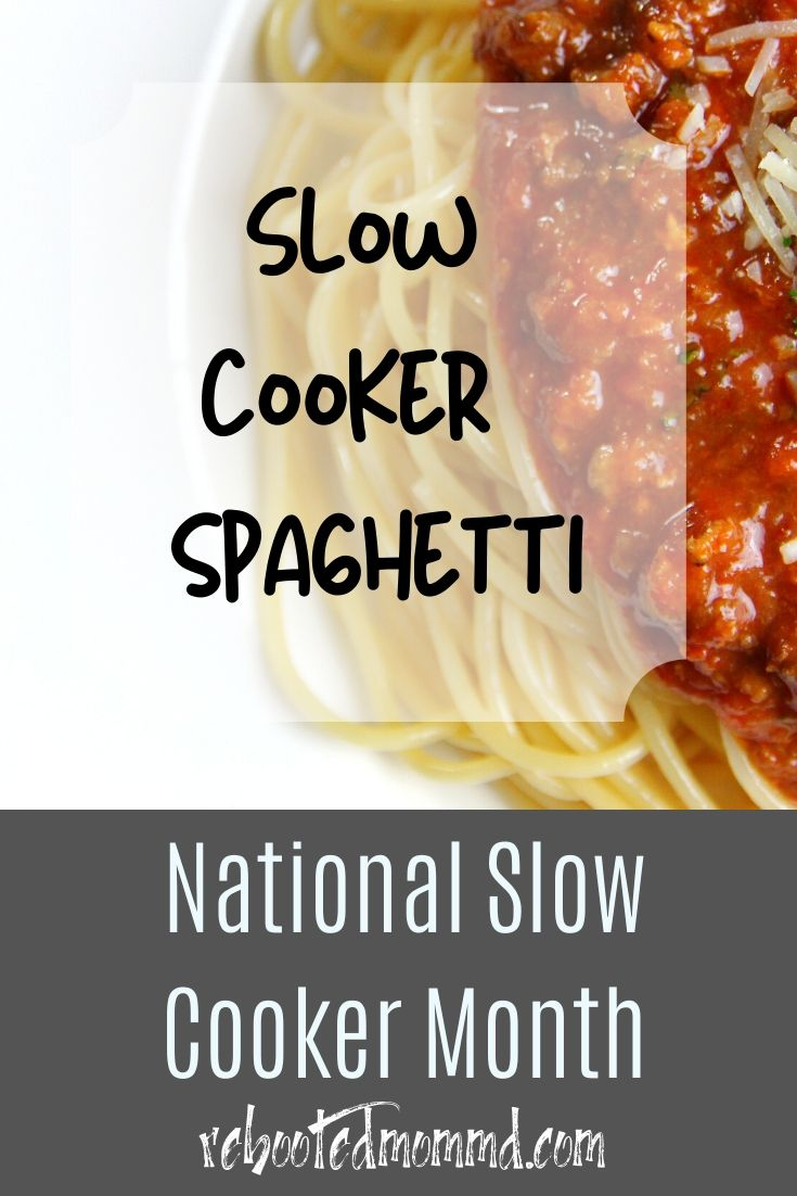 Slow Cooker Spaghetti