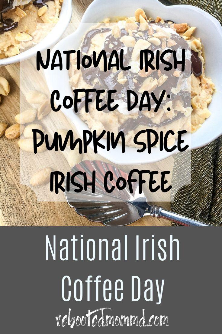 Pumpkin Spice Irish Coffee