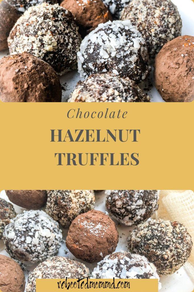 cchocolate hazelnut truffles